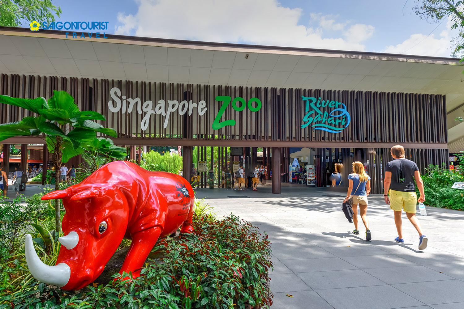Du lịch Singapore [Gardens By The Bay - Wings Of Time - Marina Barrage - Singapore Zoo - River Safari - Phật Nha Tự]