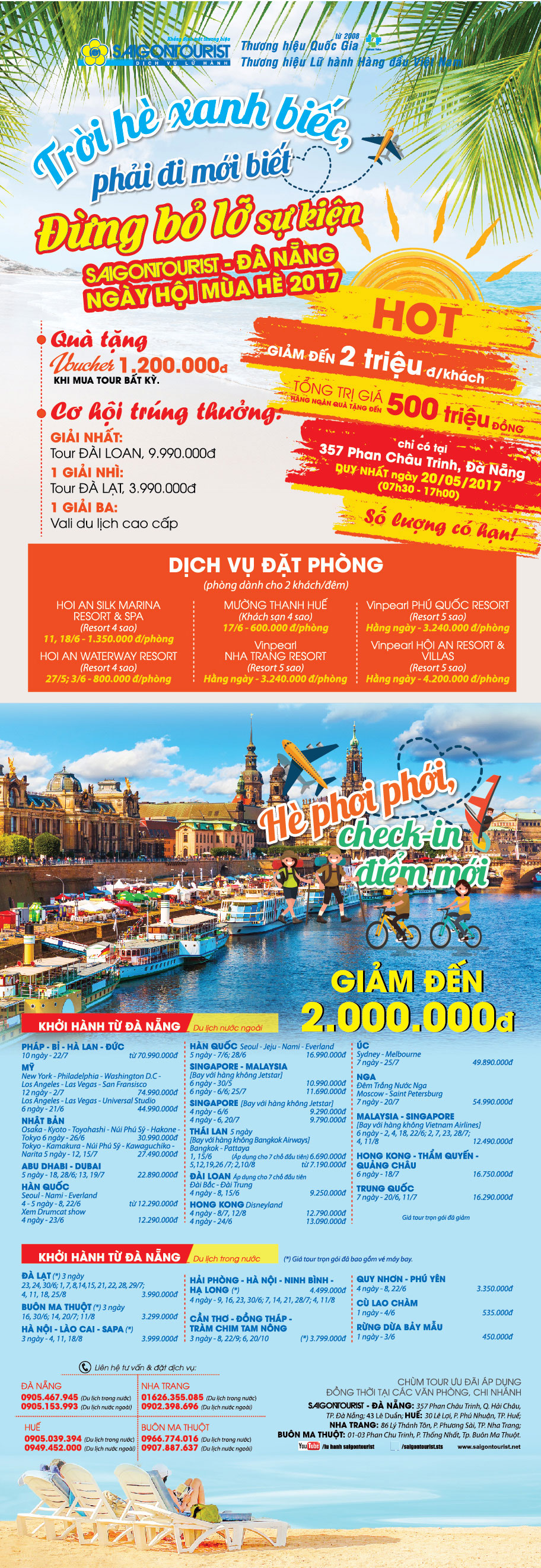 Ngày hội mùa Hè Saigontourist 2017